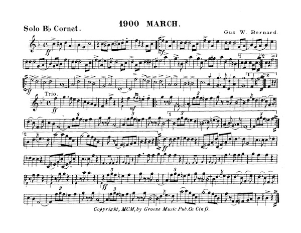 1900 March