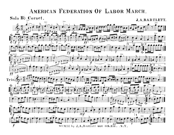 American Federation of Labor March