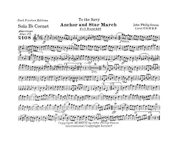 Anchor and Star March