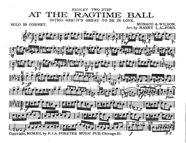 At The Ragtime Ball