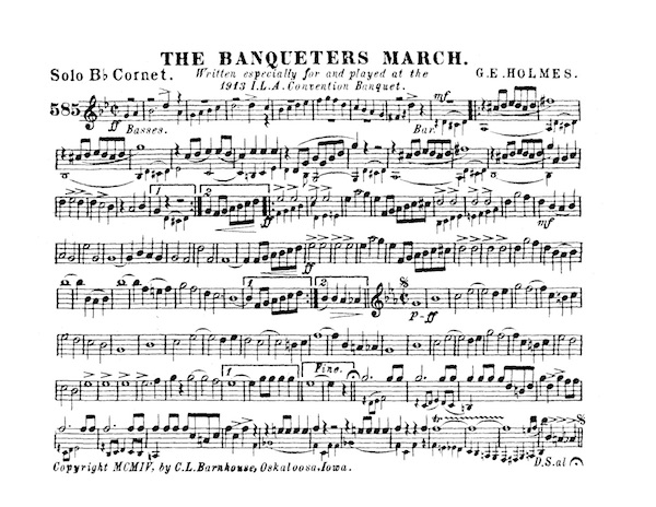 Banqueters March, The