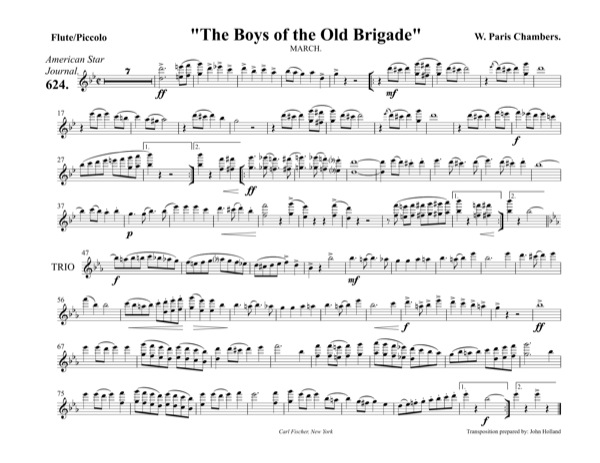 Boys of the Old Brigade, The