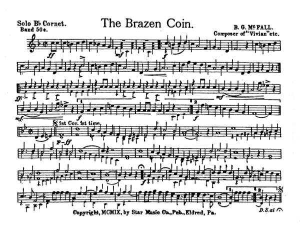 Brazen Coin, The