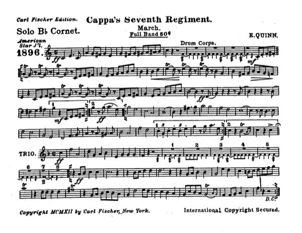 Cappa's Seventh Regiment