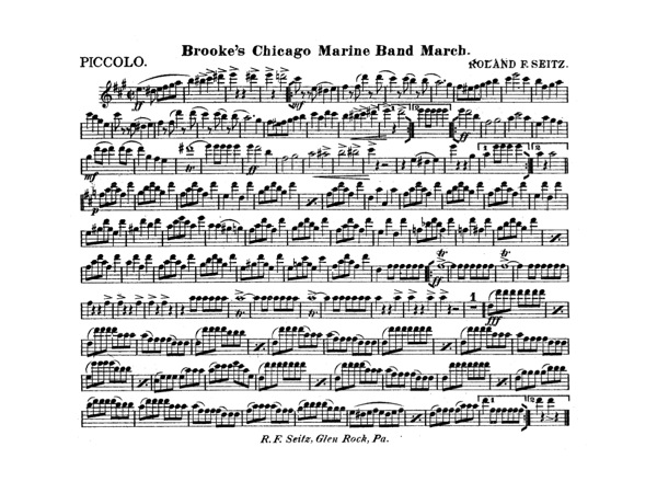 Brooke's Chicago Marine Band March