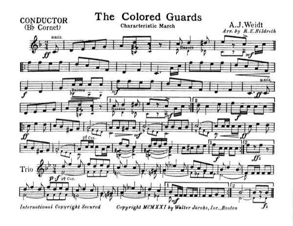 Colored Guards, The