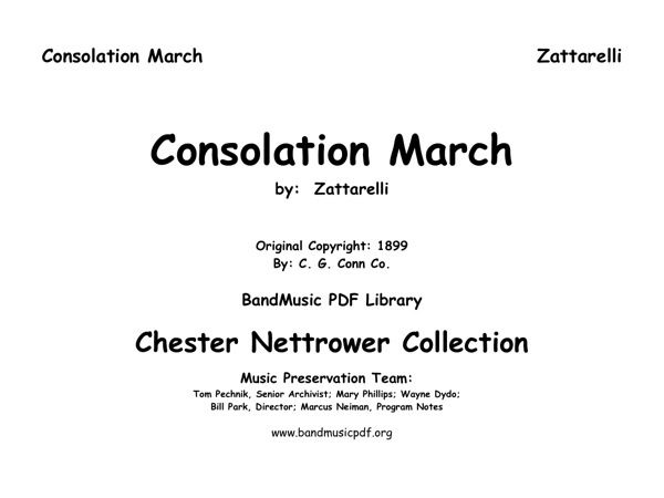 Consolation March