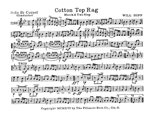 Cotton Top Rag