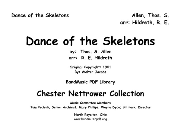 Dance of the Skeletons