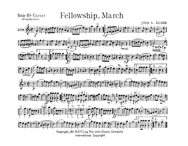 Fellowship March