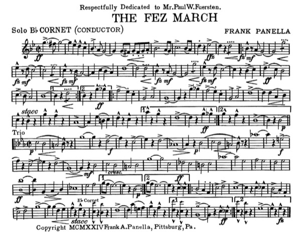 Fez March, The