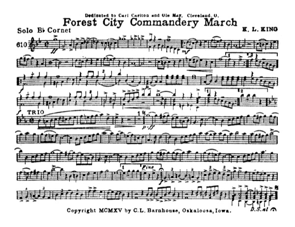 Forest City Commandery March