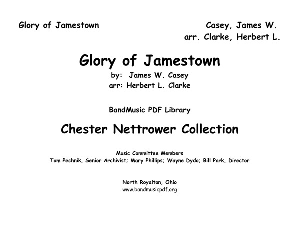 Glory of Jamestown