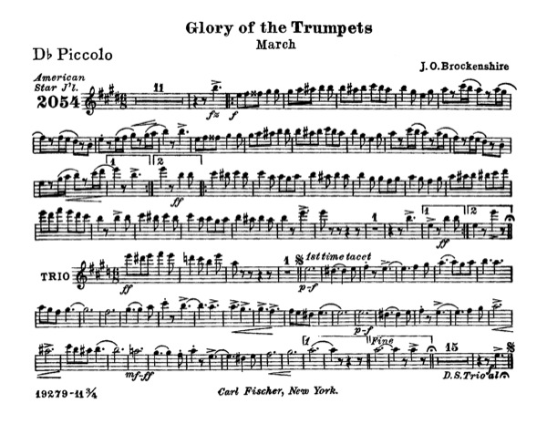 Glory of the Trumpets