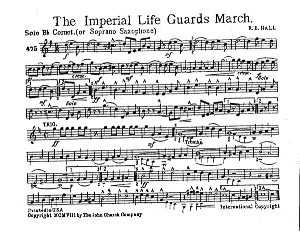 Imperial Life Guards March