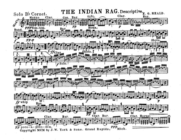 Indian Rag, The