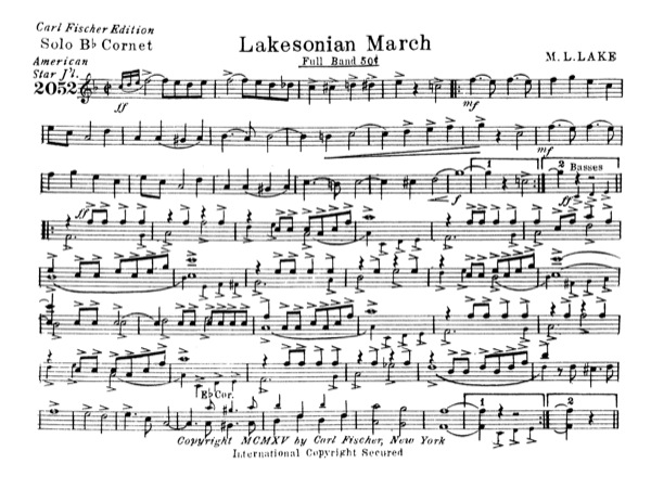 Lakesonian March