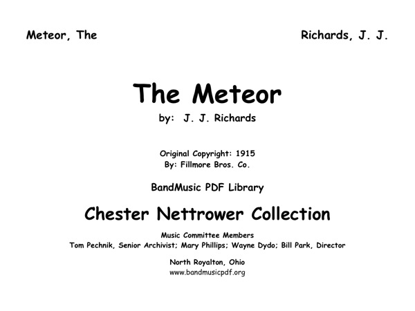 Meteor, The