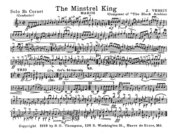 Minstrel King, The