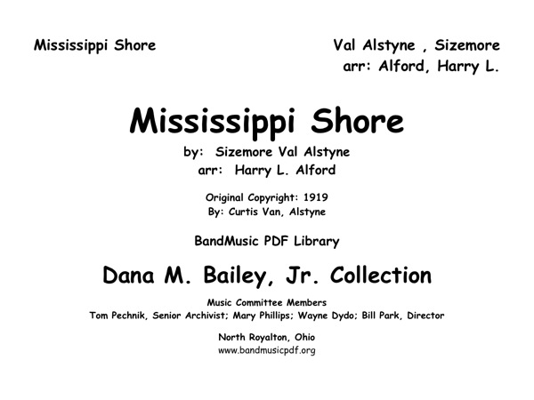 Mississippi Shore