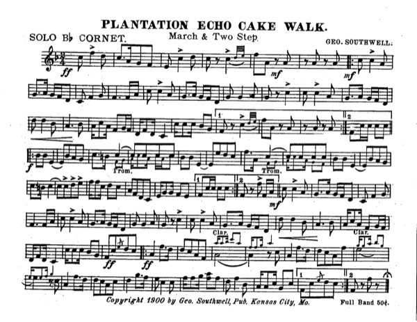 Plantation Echo Cake Walk
