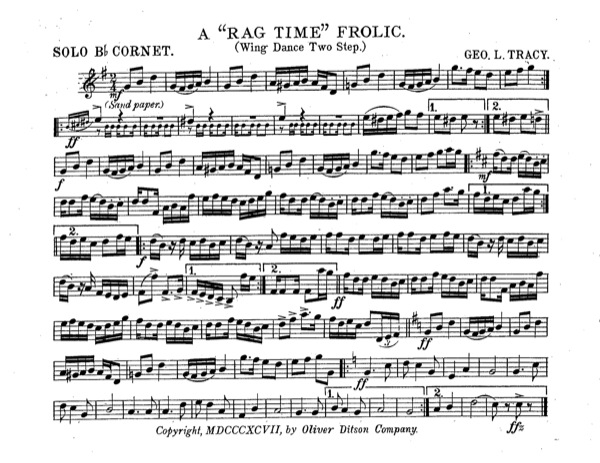Ragtime Frolic, A
