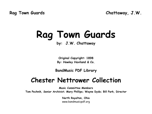 Rag Town Guards, The