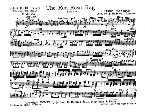 Red Rose Rag, The