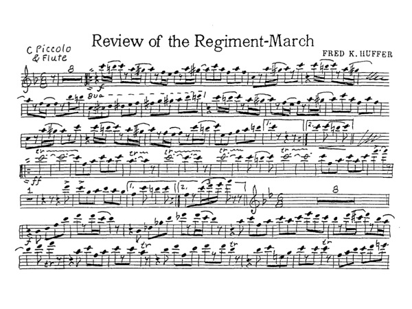 Review of the Regiment