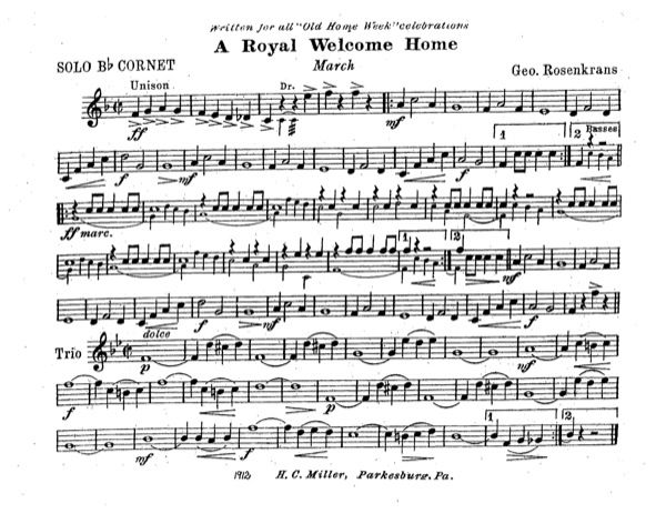 Royal Welcome Home, A