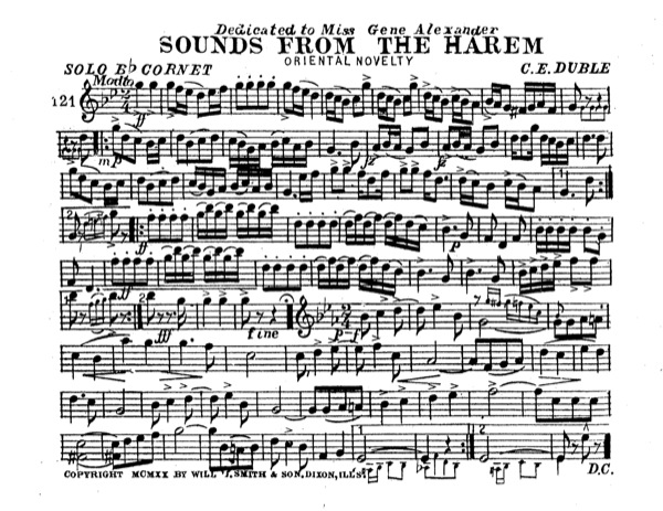 Sounds from the Harem