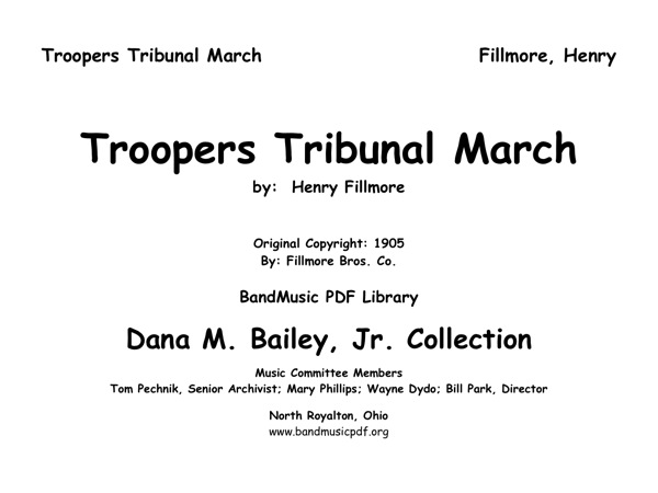 Troopers Tribunal