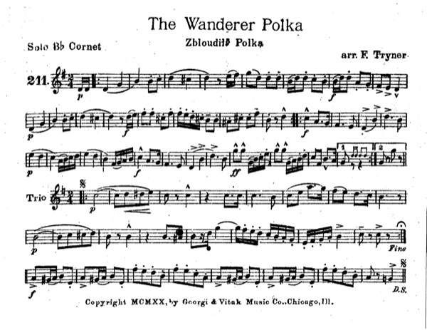 Wanderer Polka, The