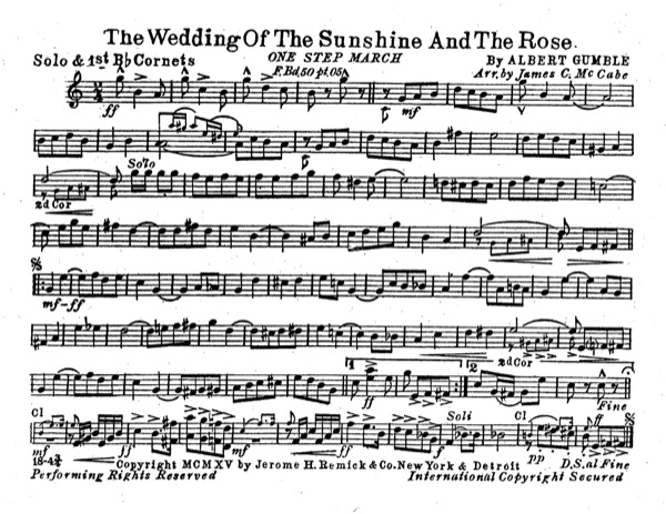 Wedding of the Sunshine and the Rose, The