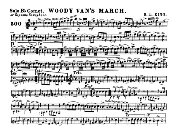 Woody Van's March